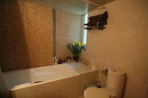 My Bathroom...I love my tub!