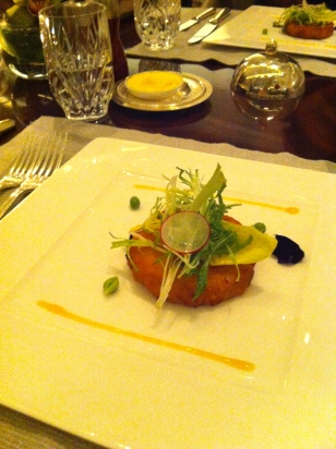 First Course- Crab Cake
