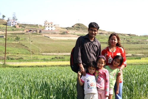 Gopal and his family :)
