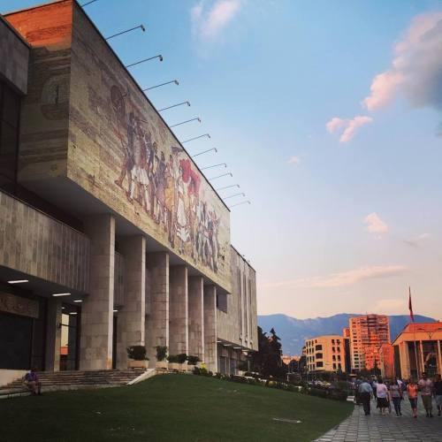 tirana national history museum