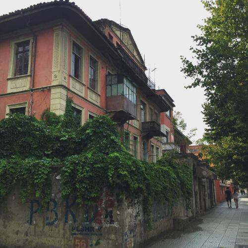 tirana old building